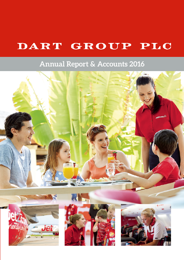 Dart Group Plc   annual report