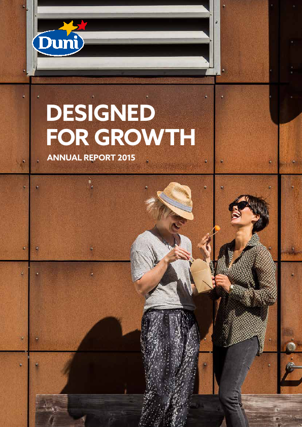 Duni   annual report