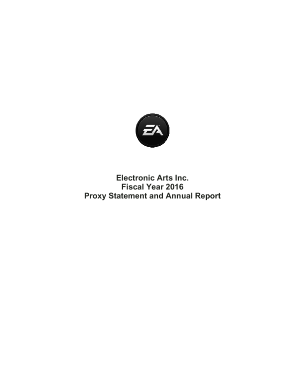 Electronic Arts Inc.   annual report
