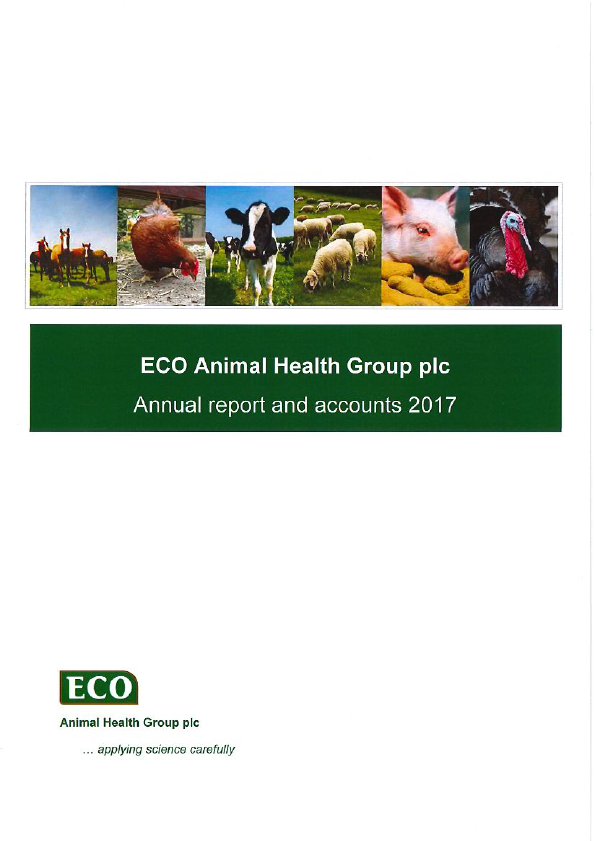 Eco Animal Health Group Plc   annual report