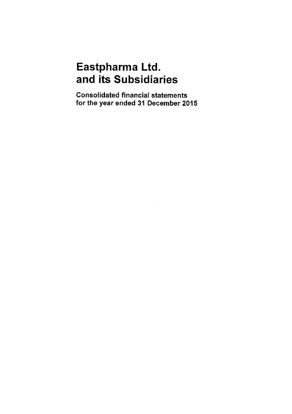 Eastpharma   annual report