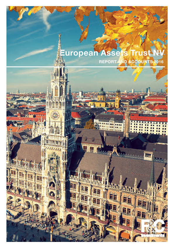 European Assets Trust NV   annual report