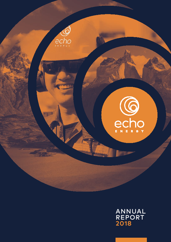 Echo Energy   annual report