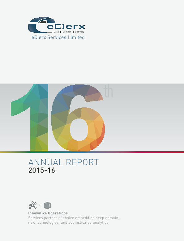 eClerx Services   annual report