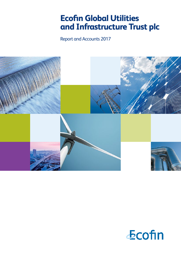 Ecofin Global Utilities and Infrastructure Trust plc (formally Ecofin Water & Power Opportunities)   annual report