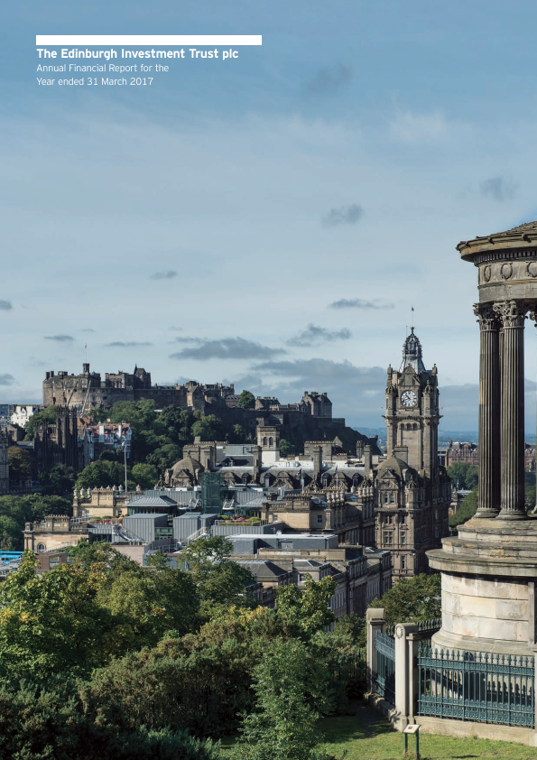 Edinburgh Investment Trust   annual report