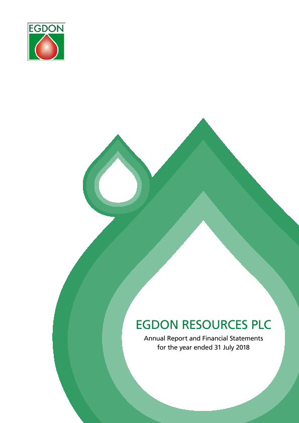 Egdon Resources Plc   annual report
