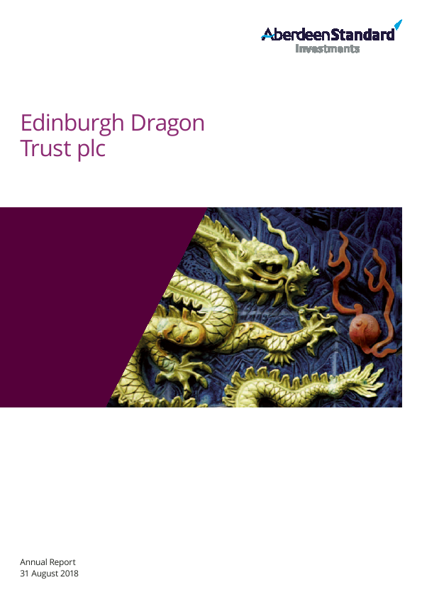 Edinburgh Dragon Trust   annual report