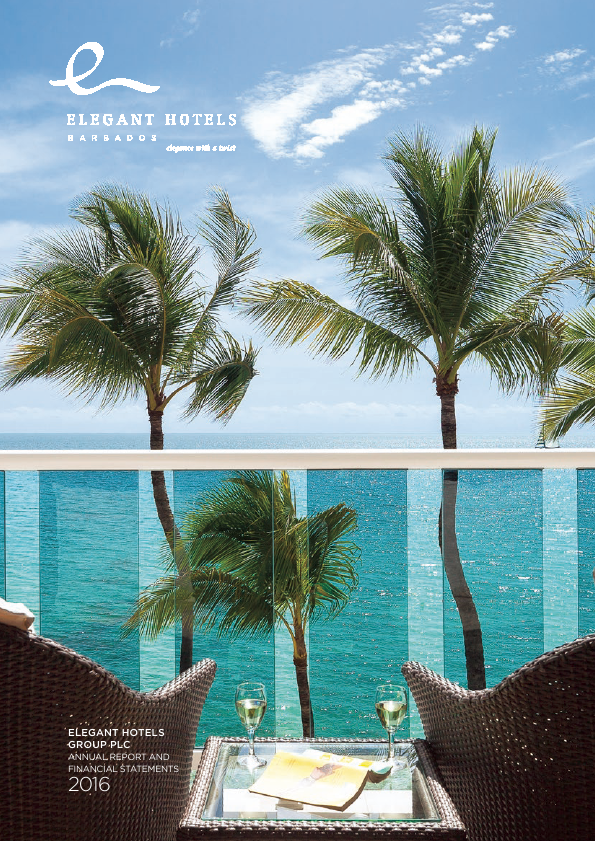 Elegant Hotels Group Plc   annual report