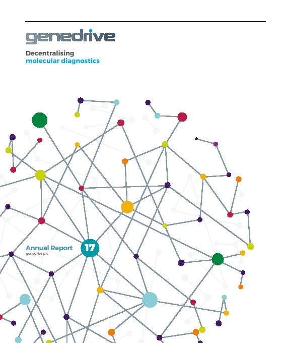 Genedrive (previously Epistem Holdings)   annual report