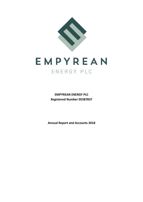 Empyrean Energy   annual report