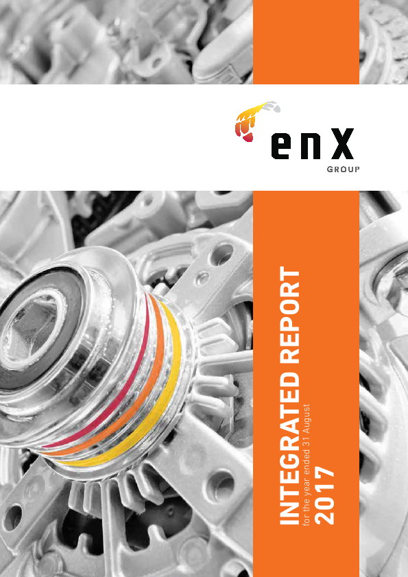 enX Group   annual report