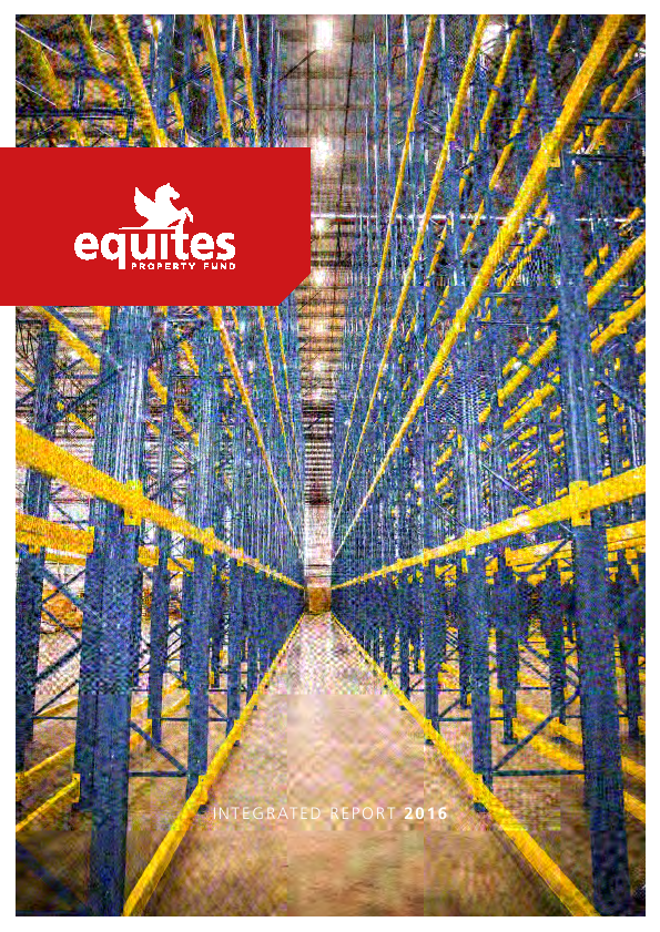 Equites Property Fund   annual report