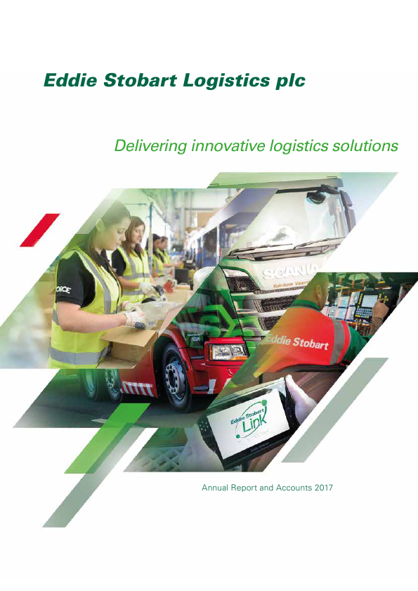 Eddie Stobart Logistics   annual report