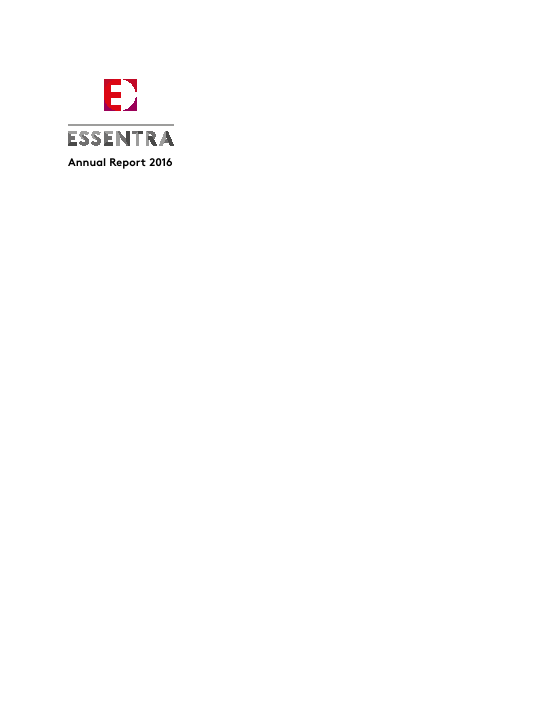 Essentra Plc   annual report