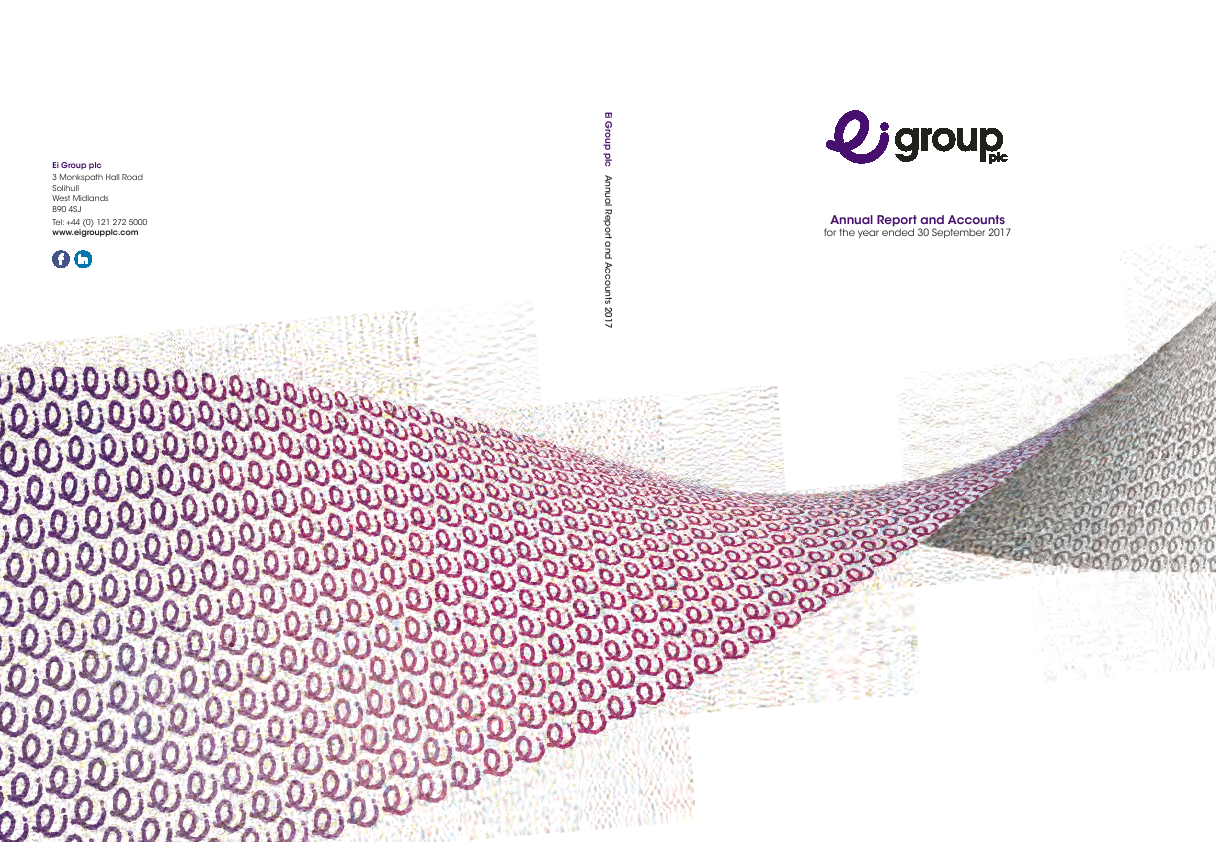 Ei Group (Formally Enterprise Inns)   annual report