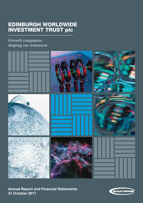 Edinburgh Worldwide Investment Trust   annual report