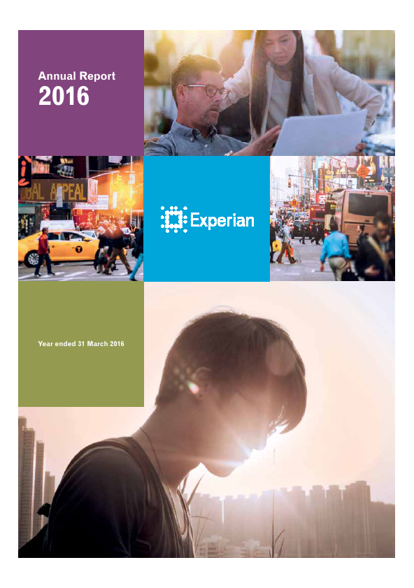 Experian Plc   annual report