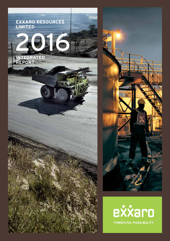 Exxaro Resources   annual report
