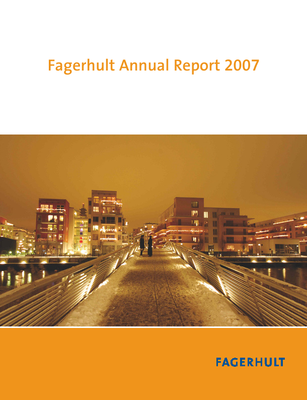 Fagerhult   annual report