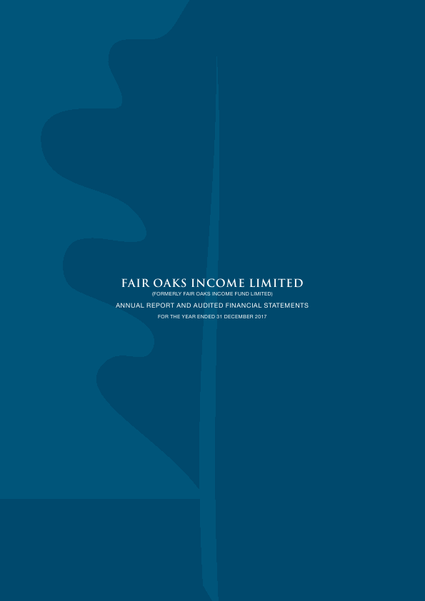 Fair Oaks Income Fund   annual report