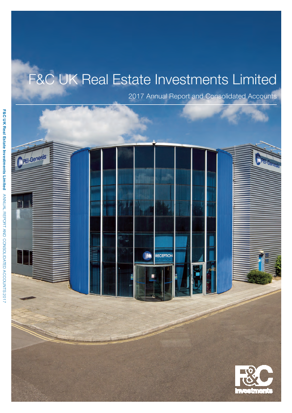 F&C UK Real Estate Investments   annual report