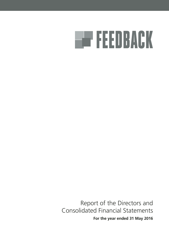 Feedback   annual report