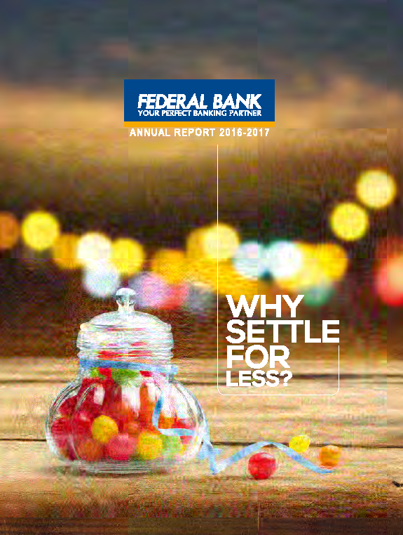Federal Bank   annual report
