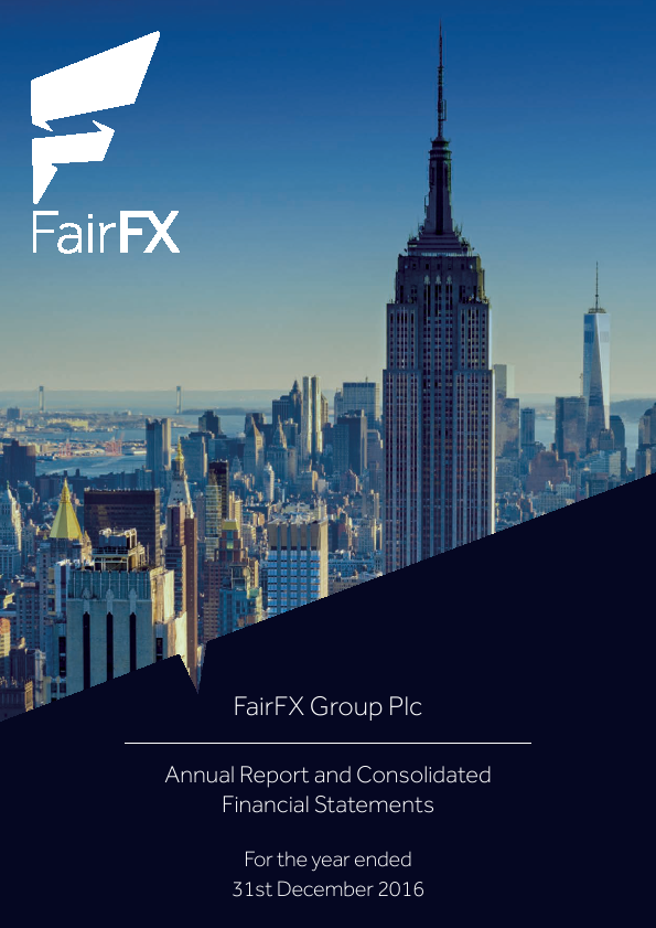 Fairfx Group Plc   annual report