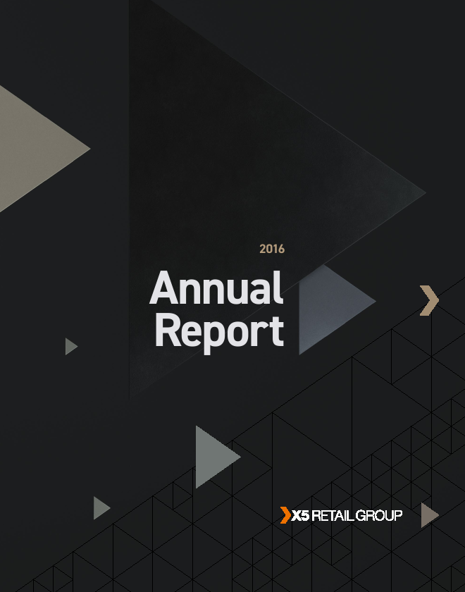 X5 Retail Group NV   annual report