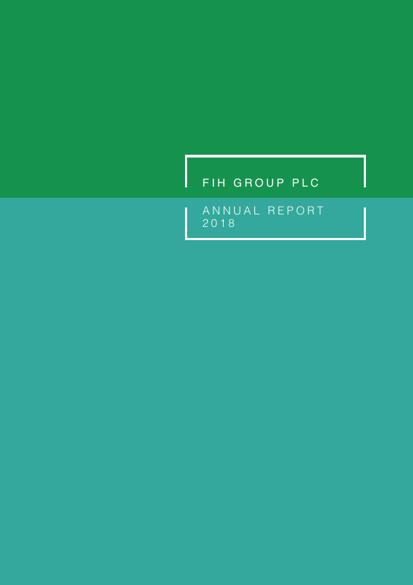 FIH (Falkland Islands Holdings)   annual report