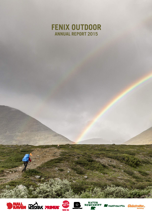 Fenix Outdoor International   annual report