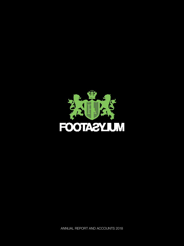 Footasylum   annual report