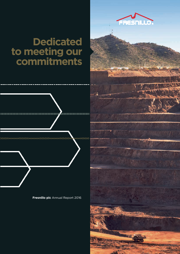 Fresnillo Plc   annual report