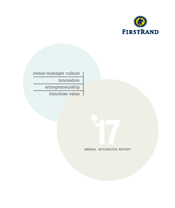 Firstrand   annual report