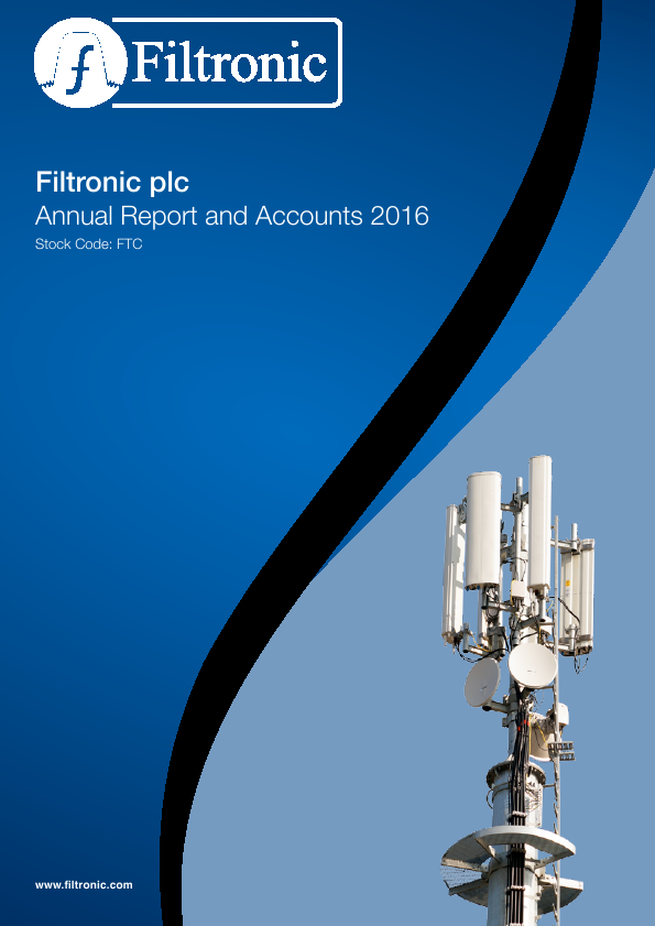 Filtronic   annual report