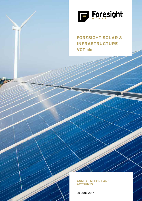 Foresight Solar & Infrastructure VCT Plc   annual report