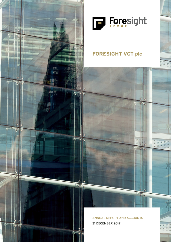 Foresight VCT Plc   annual report