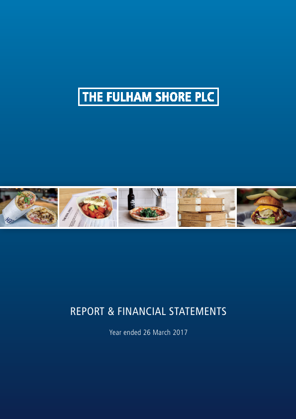 Fulham Shore Plc(The)   annual report