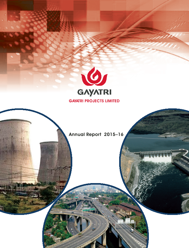 Gayatri Projects   annual report
