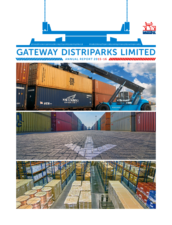 Gateway Distriparks   annual report