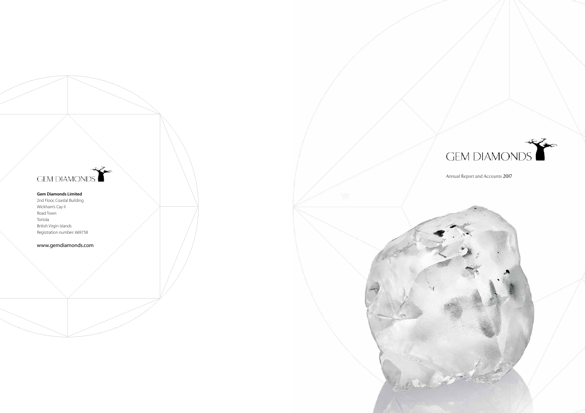 Gem Diamonds   annual report