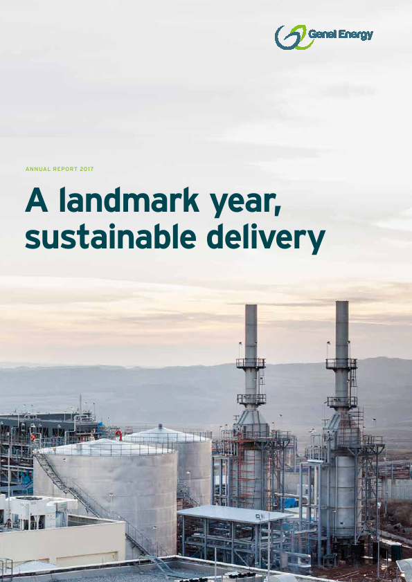 Genel Energy Plc   annual report
