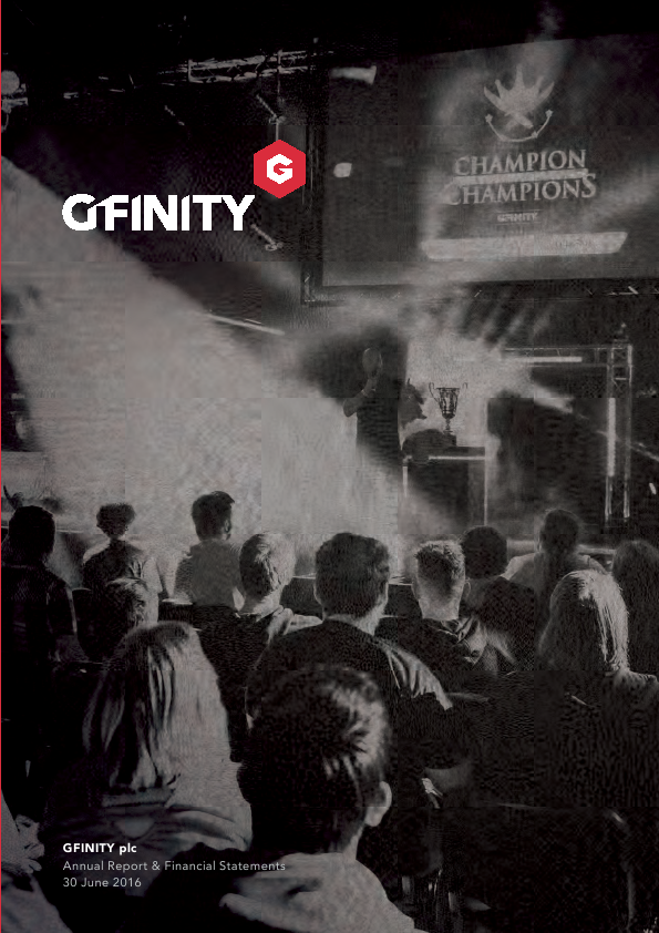 Gfinity Plc   annual report