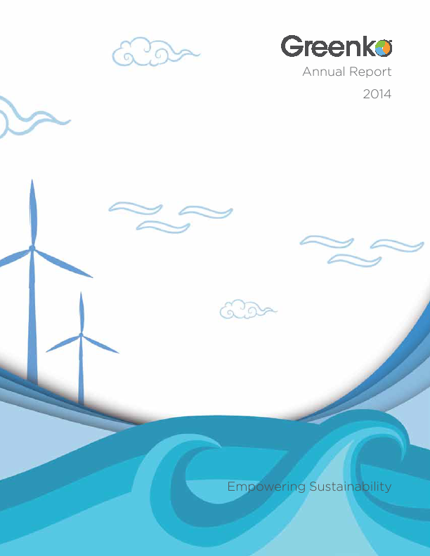 Greenko Group Plc   annual report