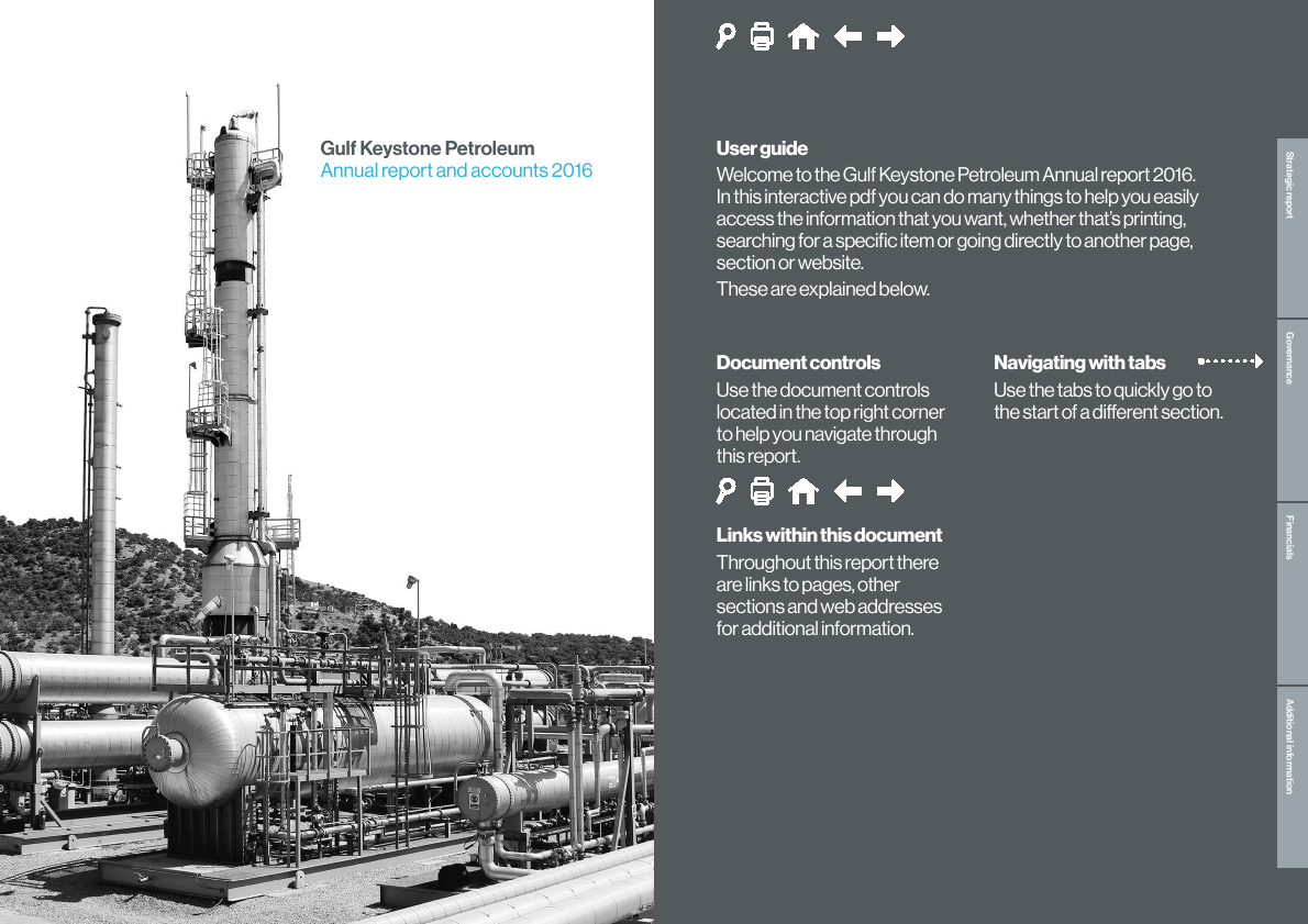 Gulf Keystone Petroleum Ltd   annual report
