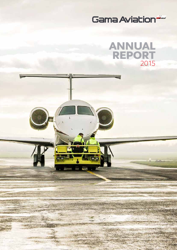 Gama Aviation Plc   annual report