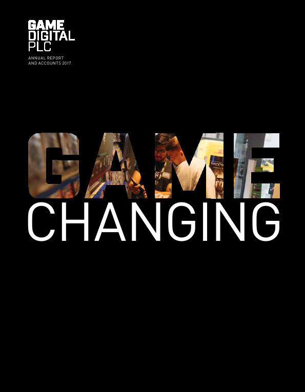 Game Digital Plc   annual report