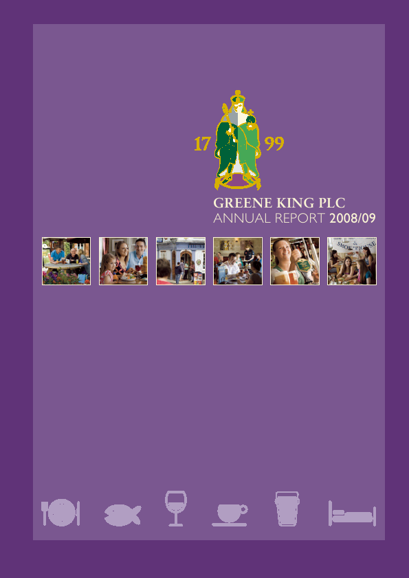 Greene King   annual report