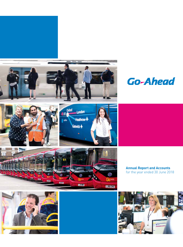 Go-ahead Group   annual report